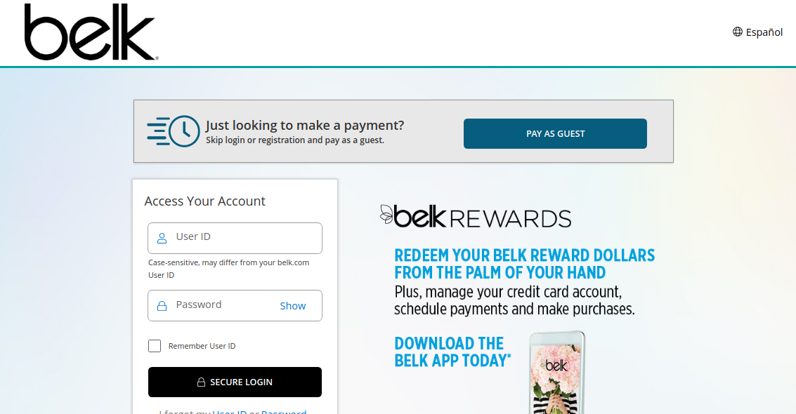 Belk Credit Card Logo