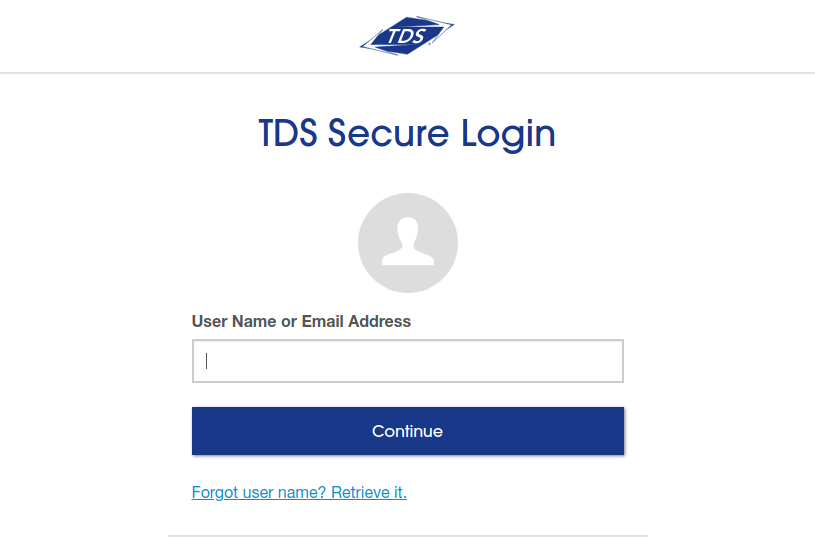 TDS Management Login