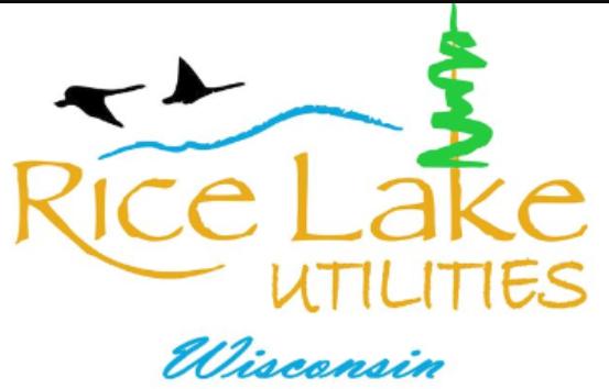 Rice Lake Utilities Logo