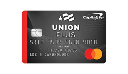 capital one union plus card